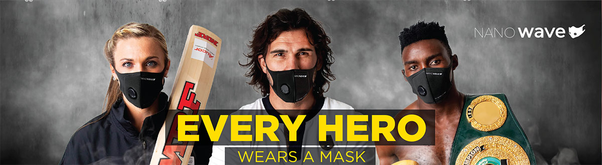 Every hero wears a mask